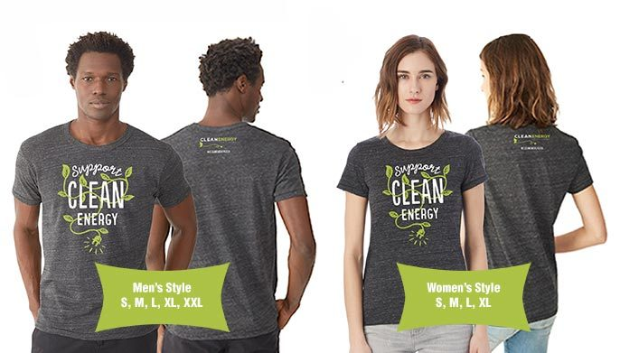 Clean Energy Credit Union T-Shirts